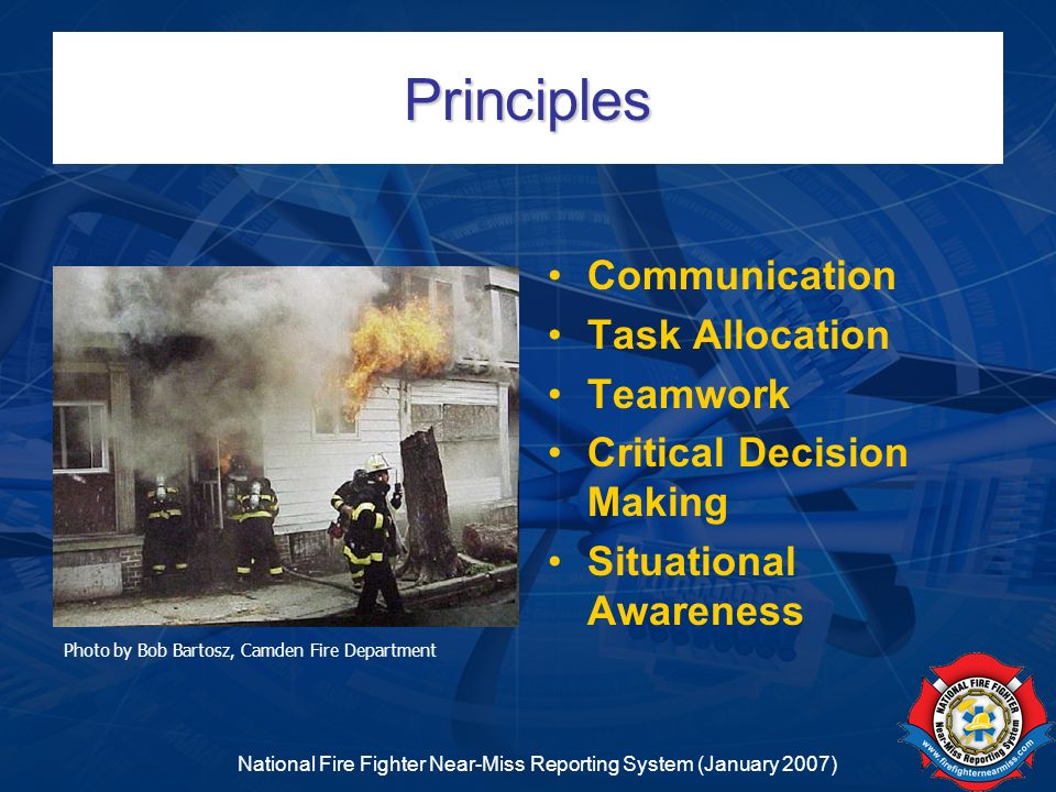 National Fire Fighter Near-Miss Reporting System (January 2007)