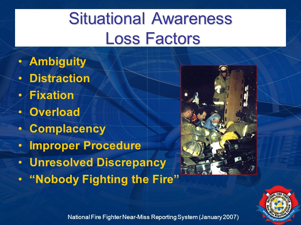 Situational Awareness Loss Factors