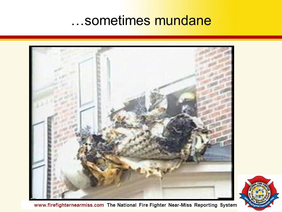 …sometimes mundane