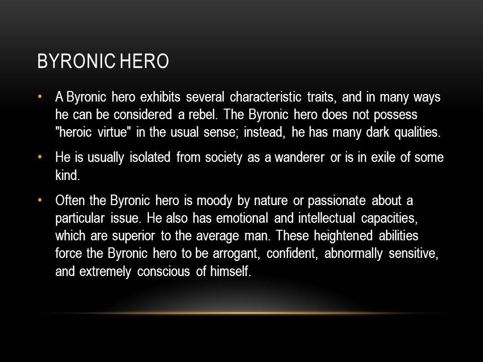 qualities of a romantic hero