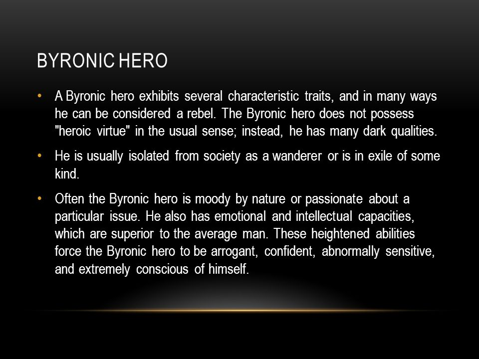 wuthering heights emily bronte ppt video online 13 byronic hero