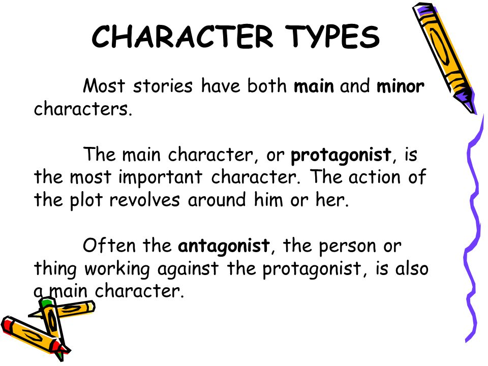 character types