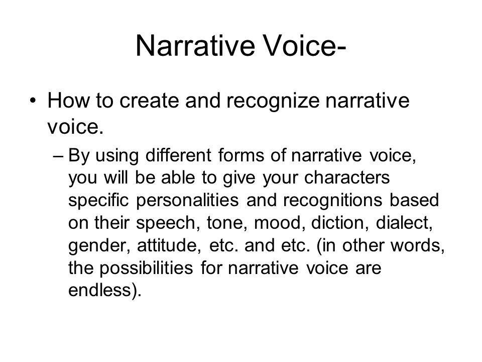 creating a narrative essay evergreen