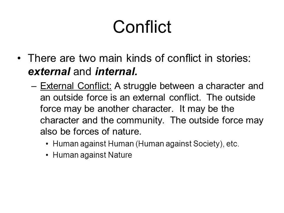 Core elements of conflict analysis