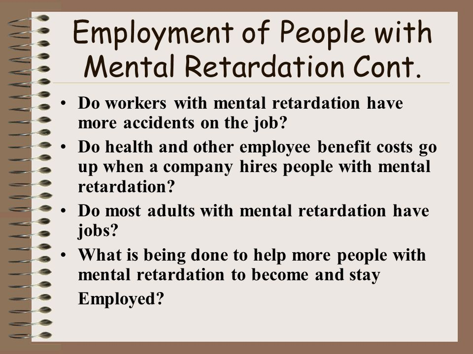 activities for adults with mental retardation