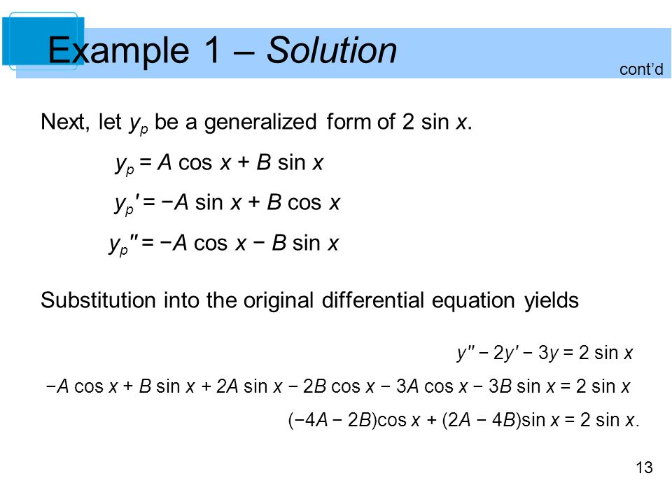 Additional Topics in Differential Equations - ppt video online ...