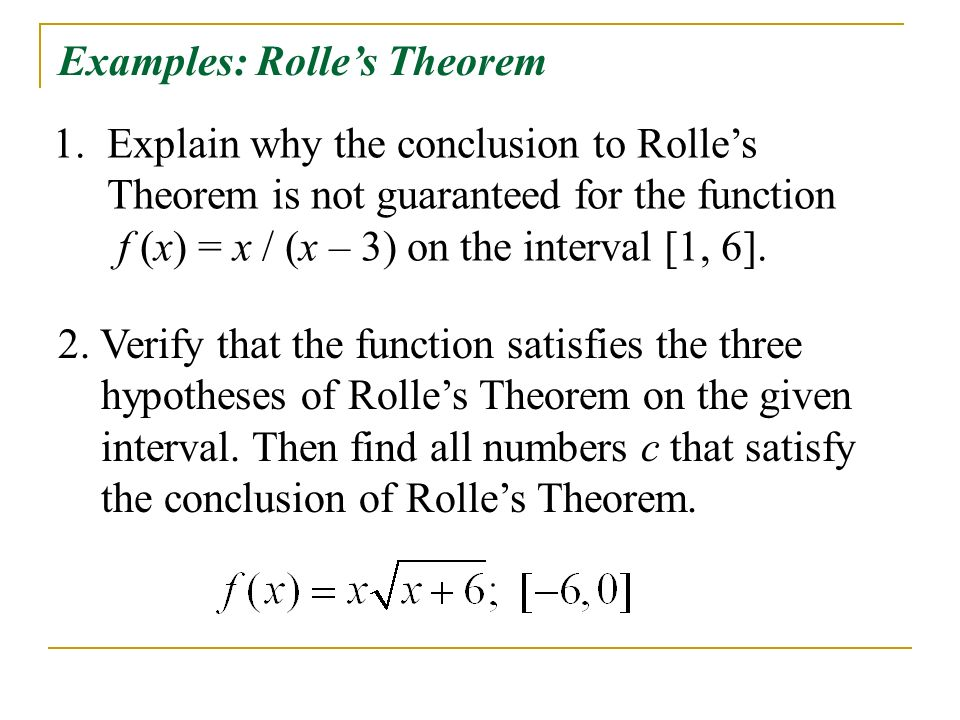 4.2 - The Mean Value Theorem - ppt video online download