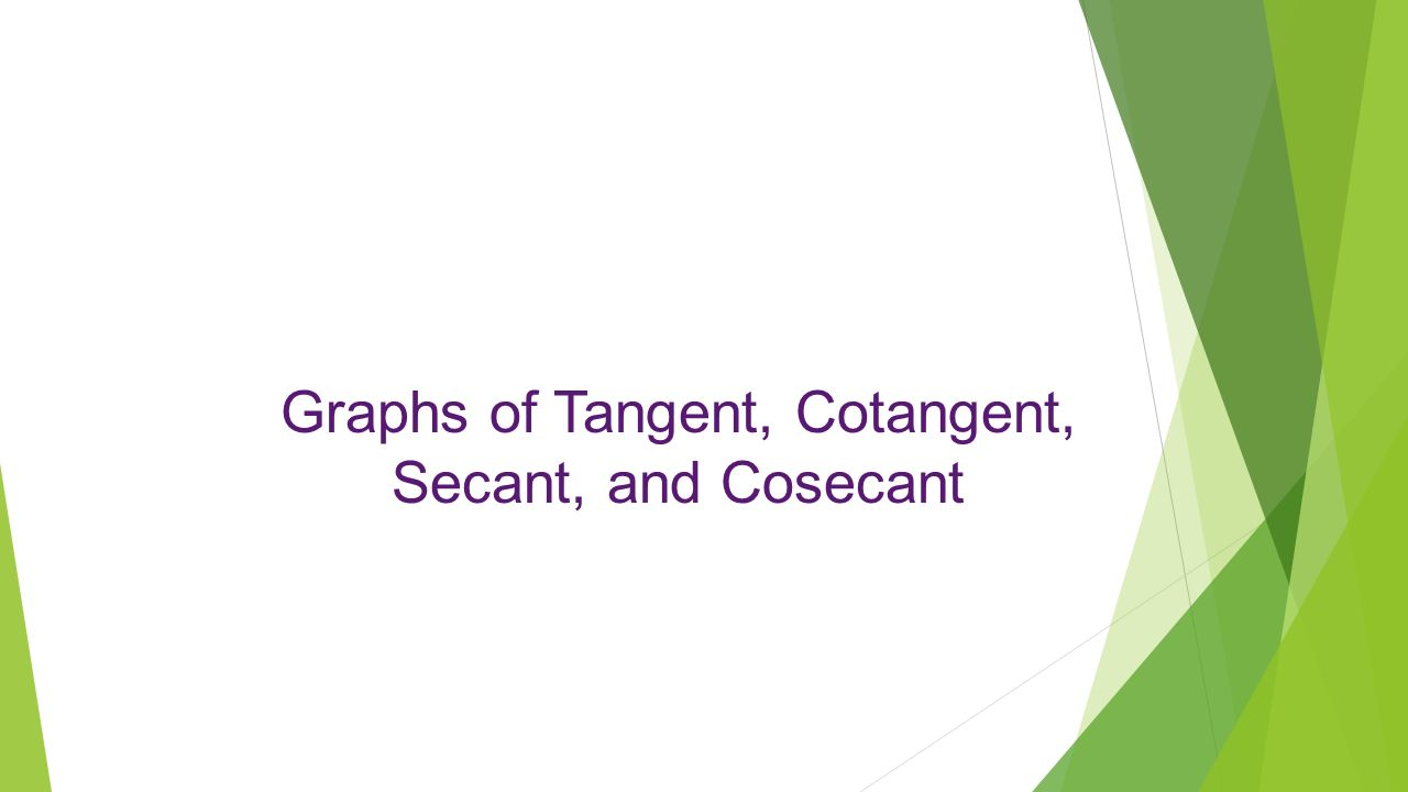 tangent and cotangent relationship to csc