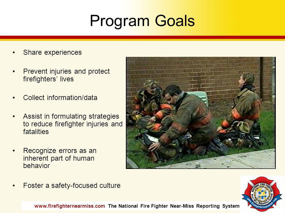 Program Goals Share experiences