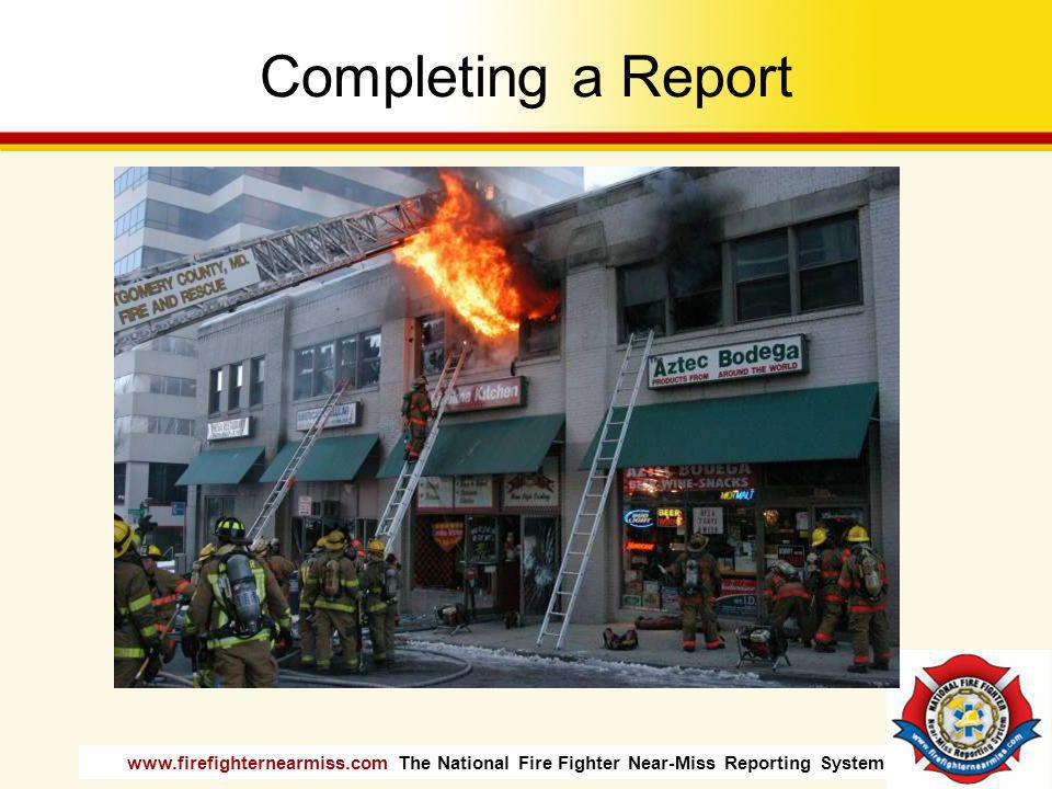 Completing a Report