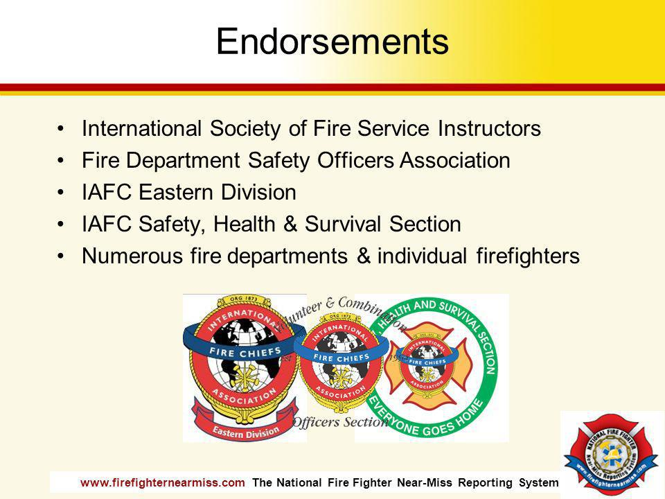 Endorsements International Society of Fire Service Instructors