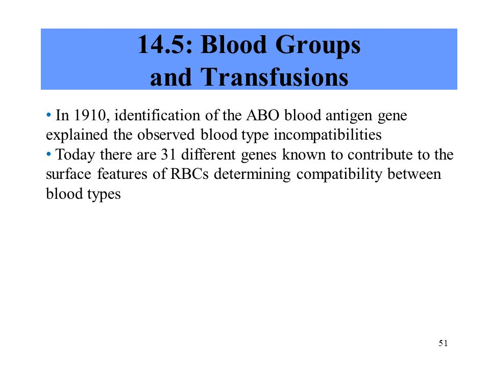 14.5: Blood Groups and Transfusions