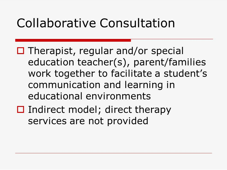 Collaborative Classroom Special Education ~ Service delivery models ppt video online download