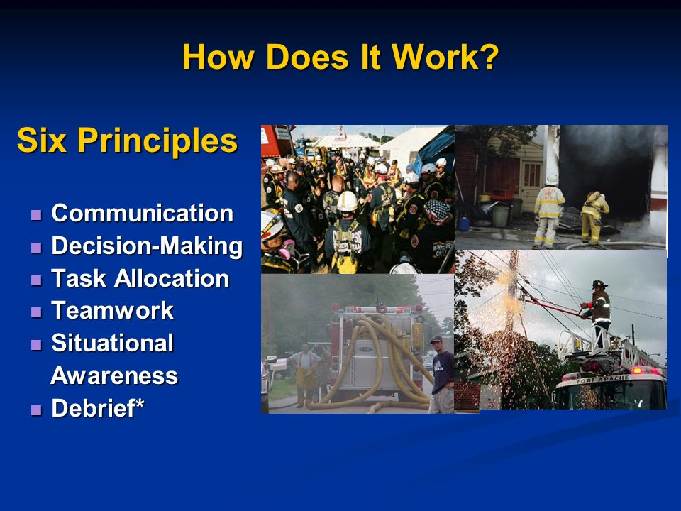 How Does It Work Six Principles Communication Decision-Making