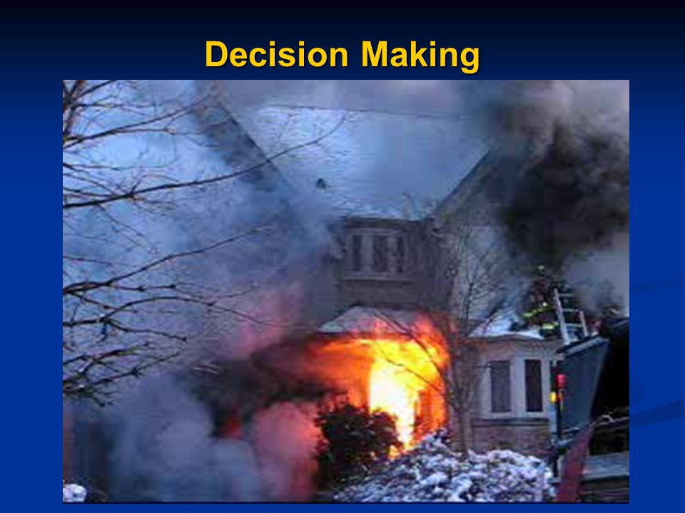 Decision Making Cue Based