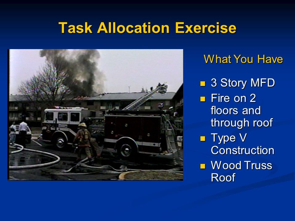 Task Allocation Exercise