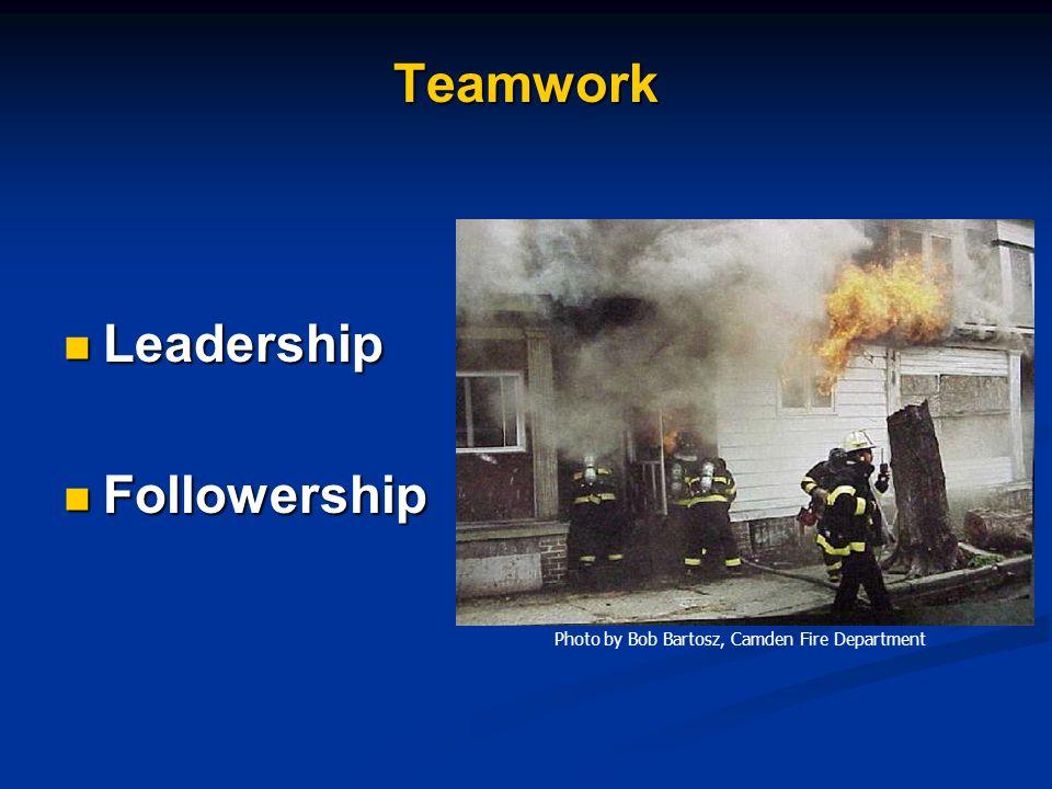 Teamwork Leadership Followership
