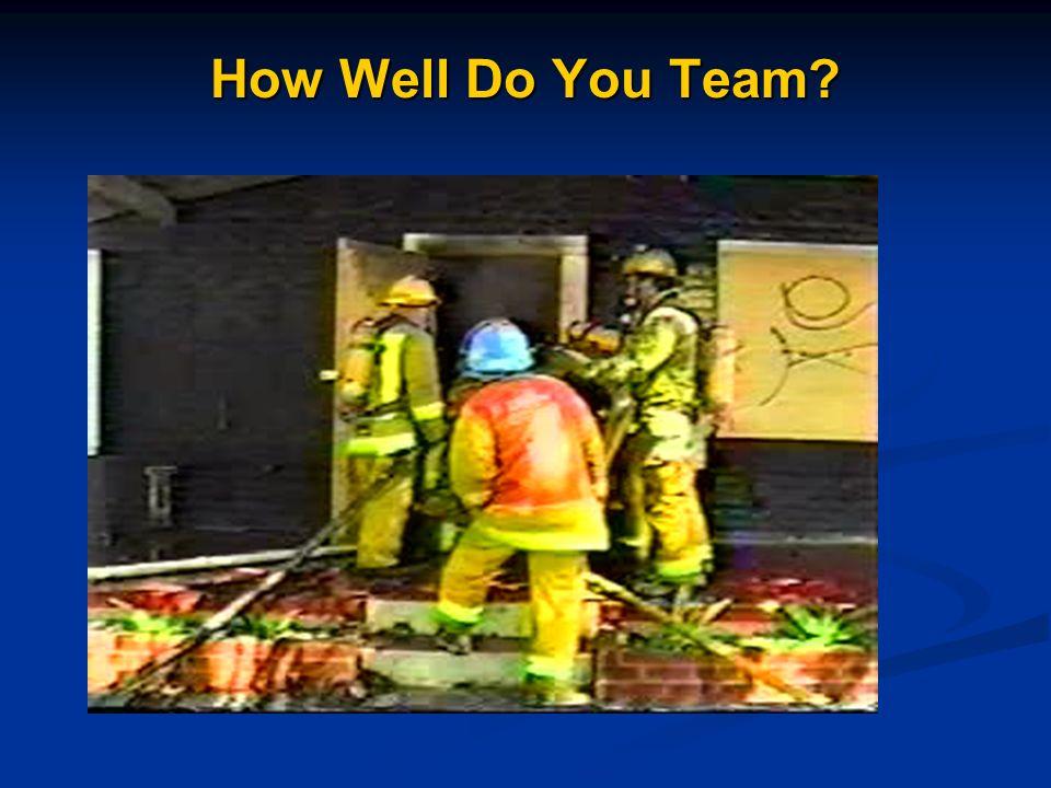 How Well Do You Team