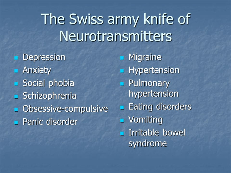 The Swiss army knife of Neurotransmitters