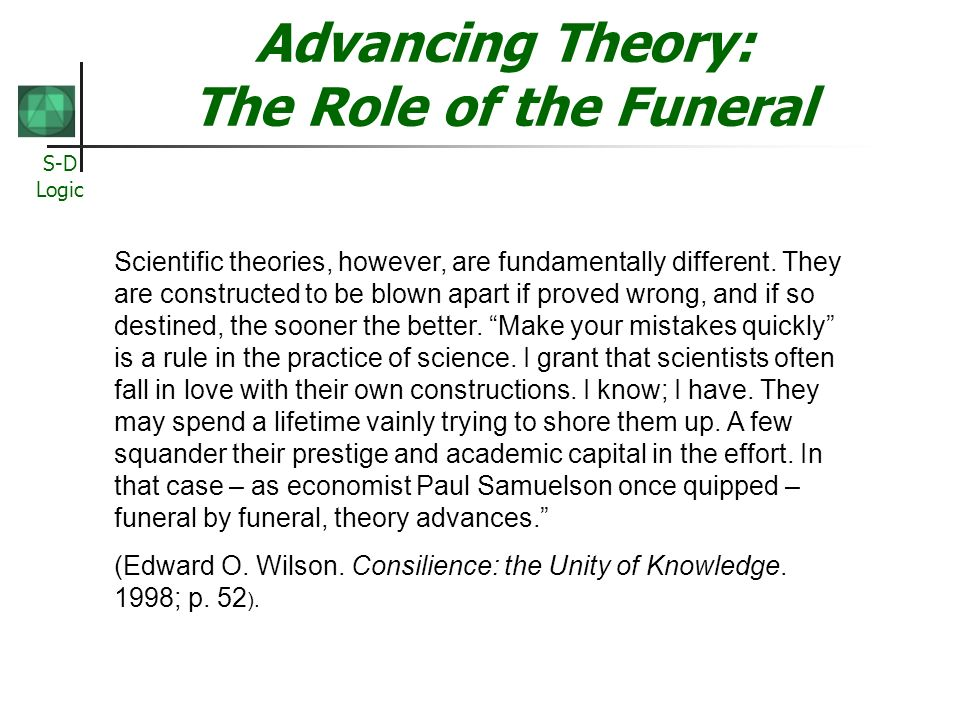 Advancing Theory: The Role of the Funeral