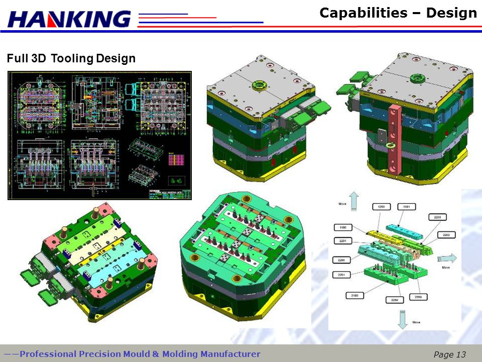 Capabilities – Design Full 3D Tooling Design
