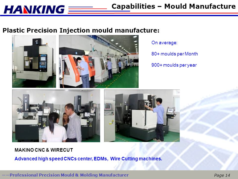 Capabilities – Mould Manufacture