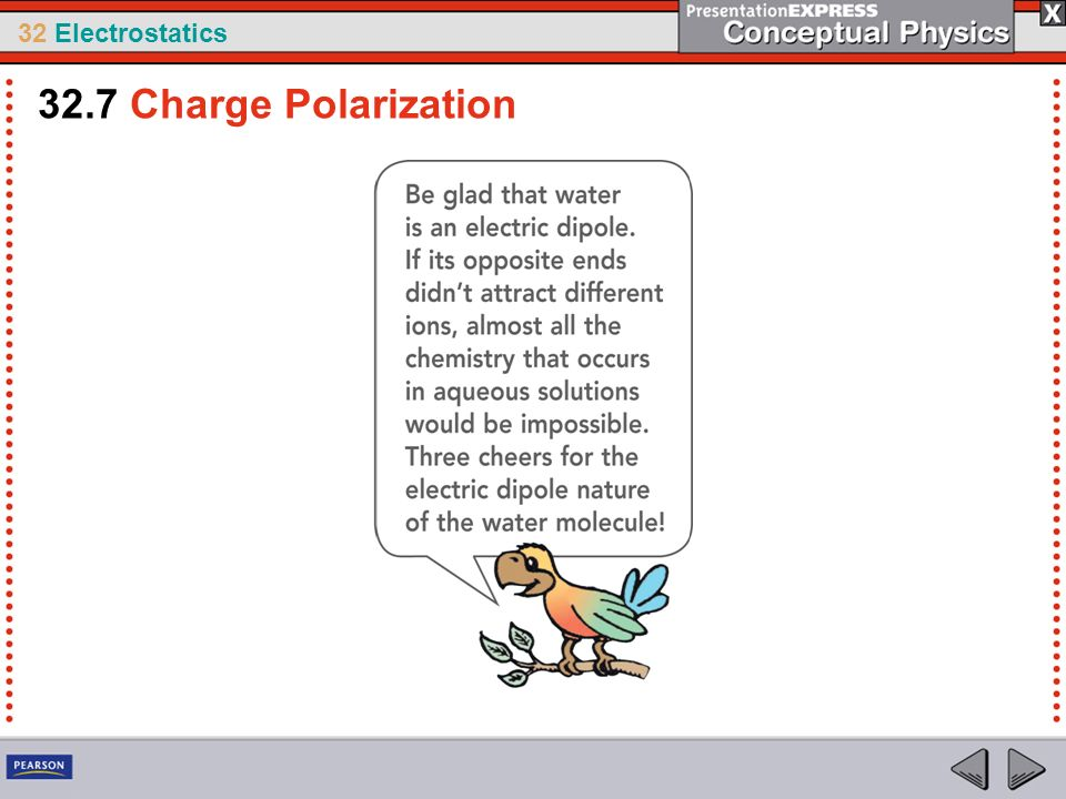 32.7 Charge Polarization