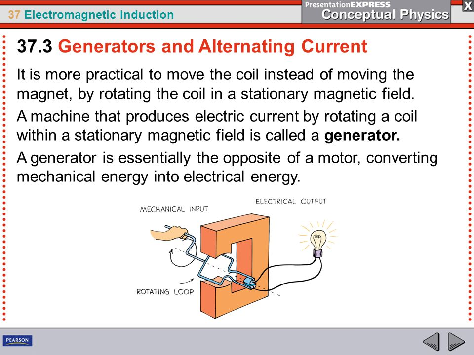 In 1831 two physicists michael faraday in england and for Turn an electric motor into a generator