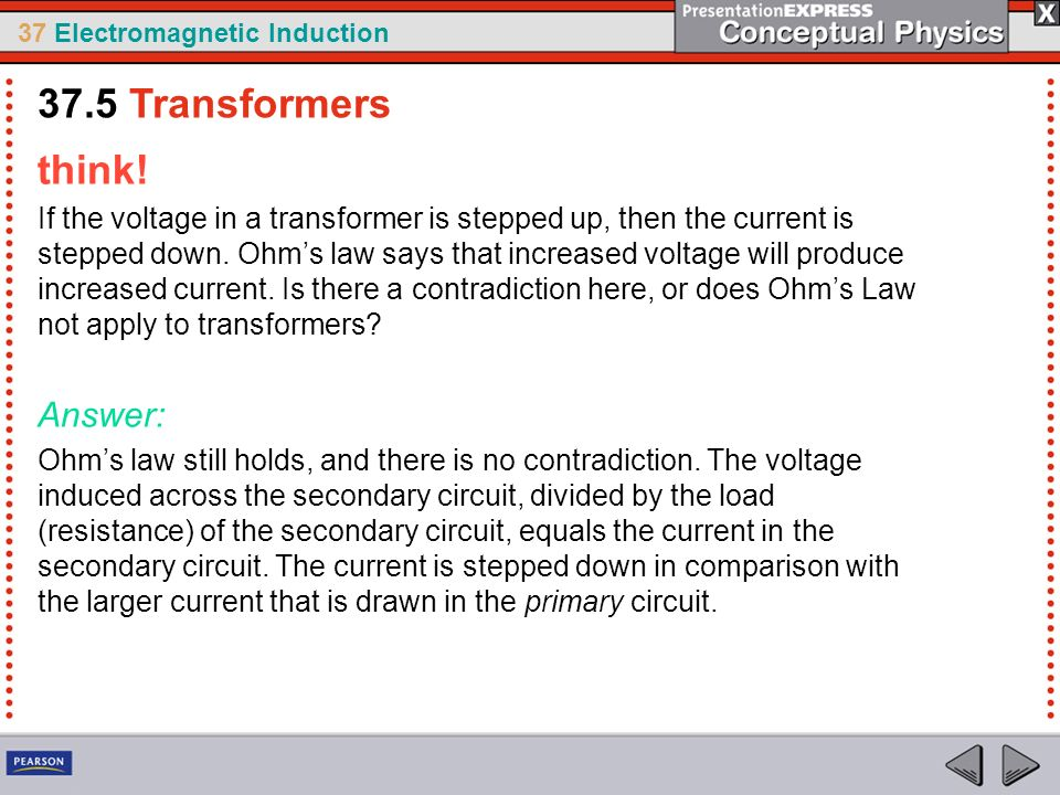 37.5 Transformers think! Answer: