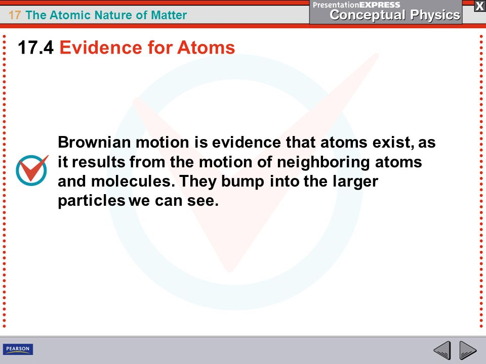 17.4 Evidence for Atoms