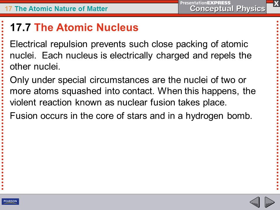 17.7 The Atomic Nucleus
