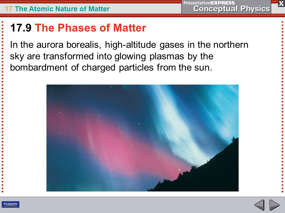 17.9 The Phases of Matter