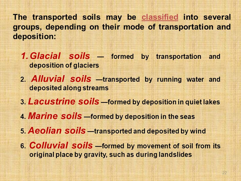 2. FORMATION OF SOILS. - ppt video online download