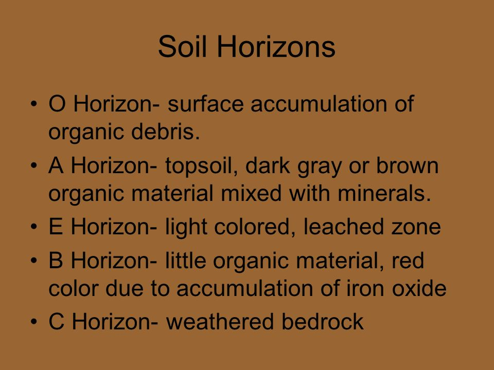 Weathering soil and glacial movement ppt video online for Soil zone of accumulation