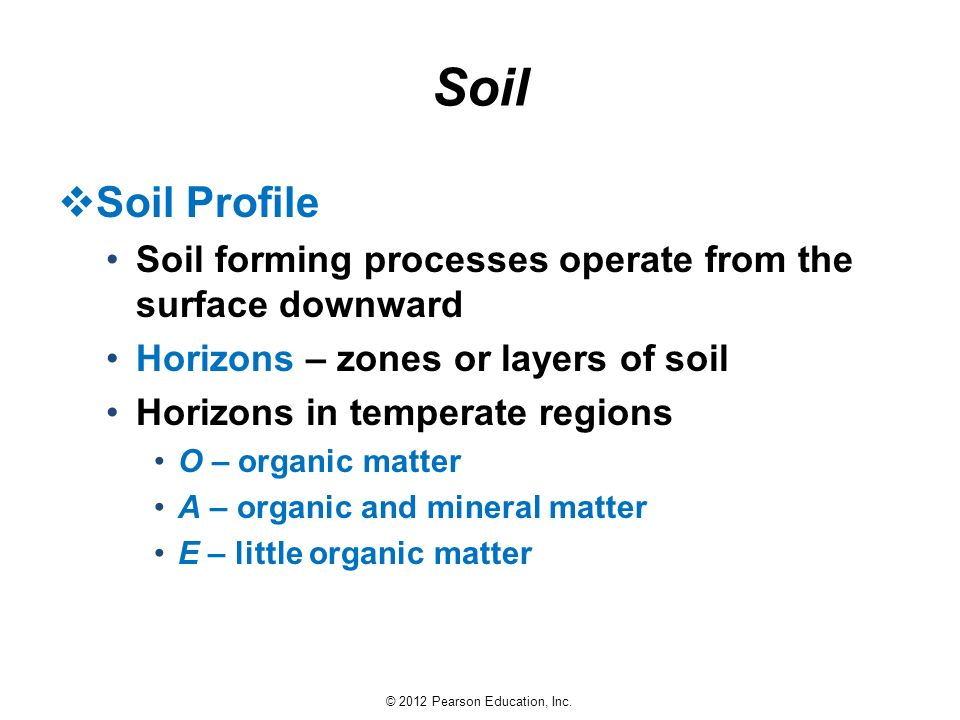 Earth science 13e tarbuck lutgens ppt download for Soil zone of accumulation