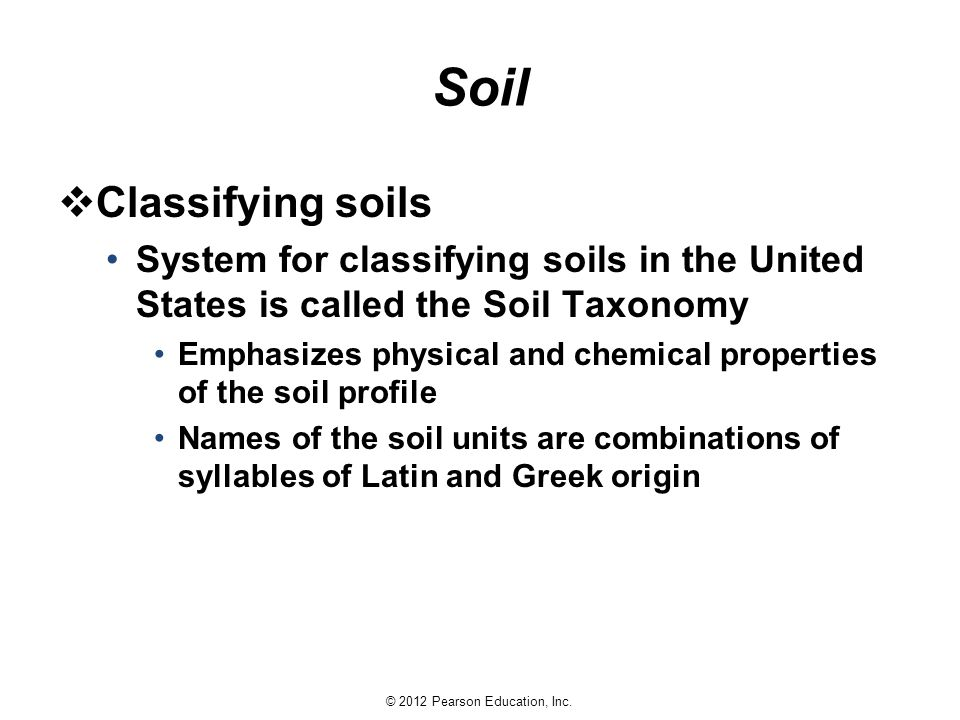 Earth science 13e tarbuck lutgens ppt download for Physical and chemical properties of soil wikipedia
