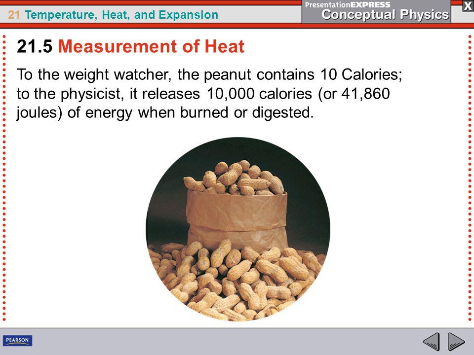 21.5 Measurement of Heat