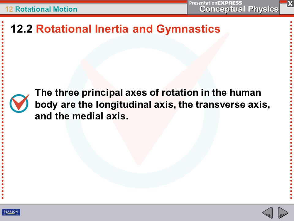 12.2 Rotational Inertia and Gymnastics