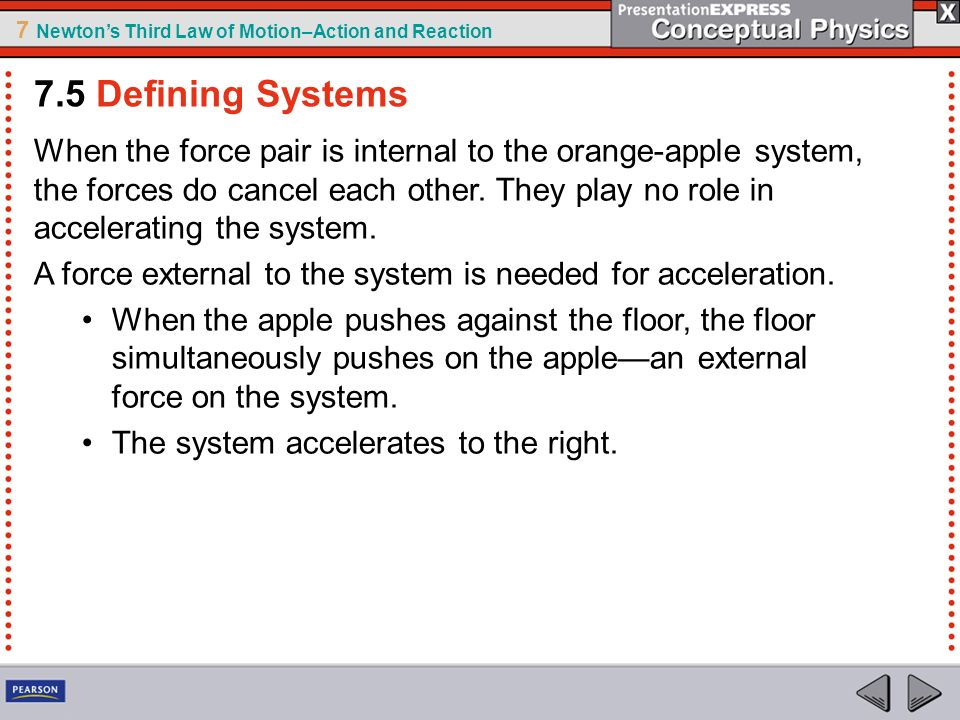 7.5 Defining Systems