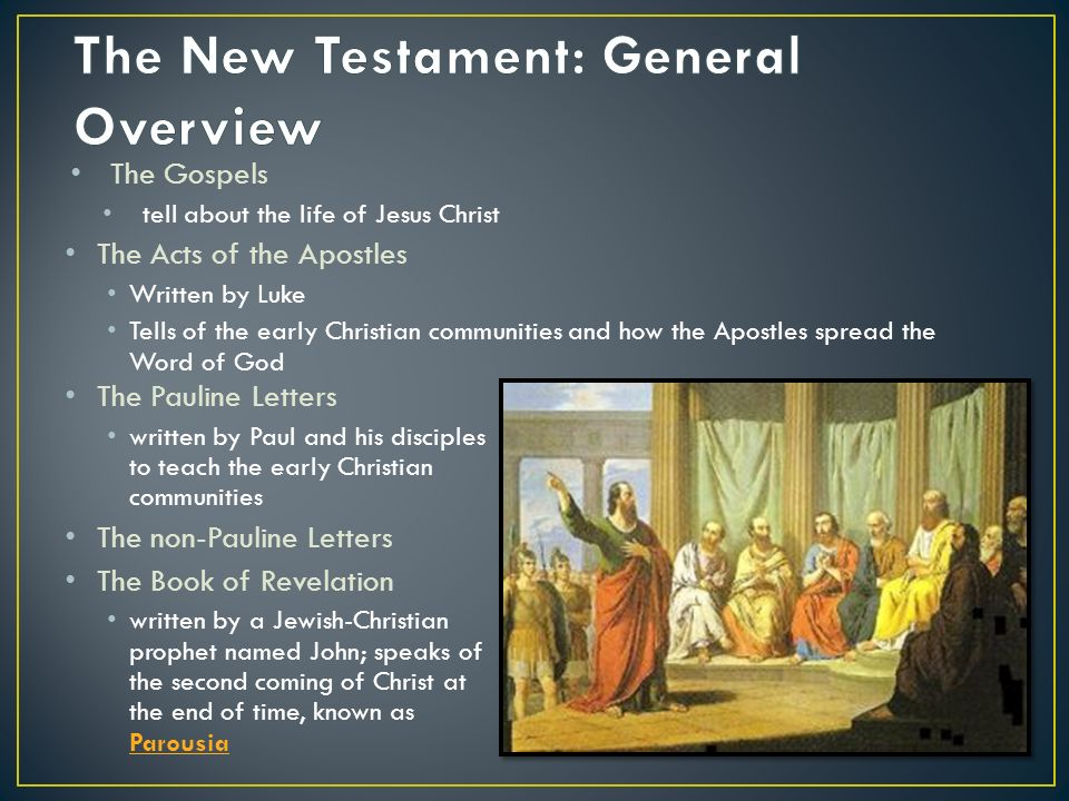 Interpretation And Overview Of The Bible