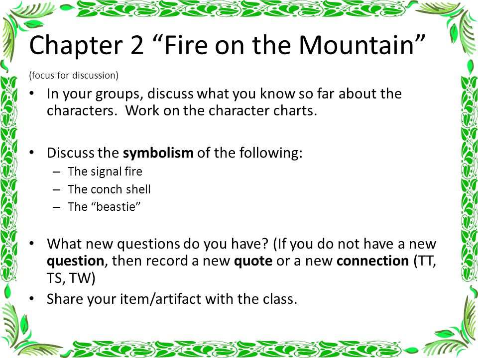 Lord Of The Flies Chapter Notes Ppt Video Online Download