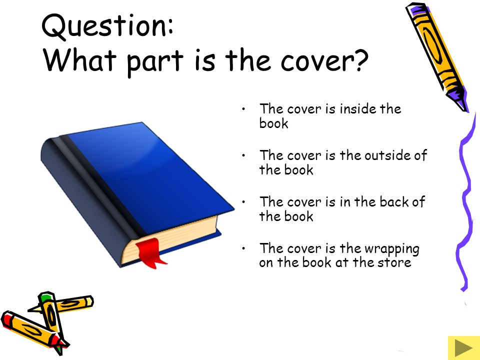 Question: What part is the cover