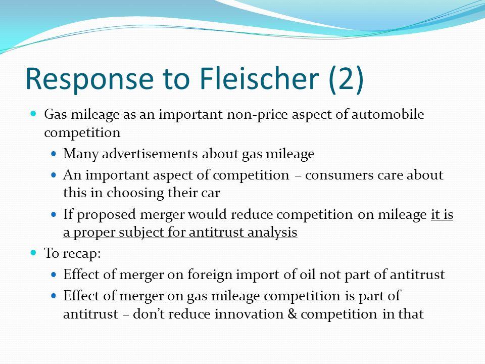 Response to Fleischer (2)