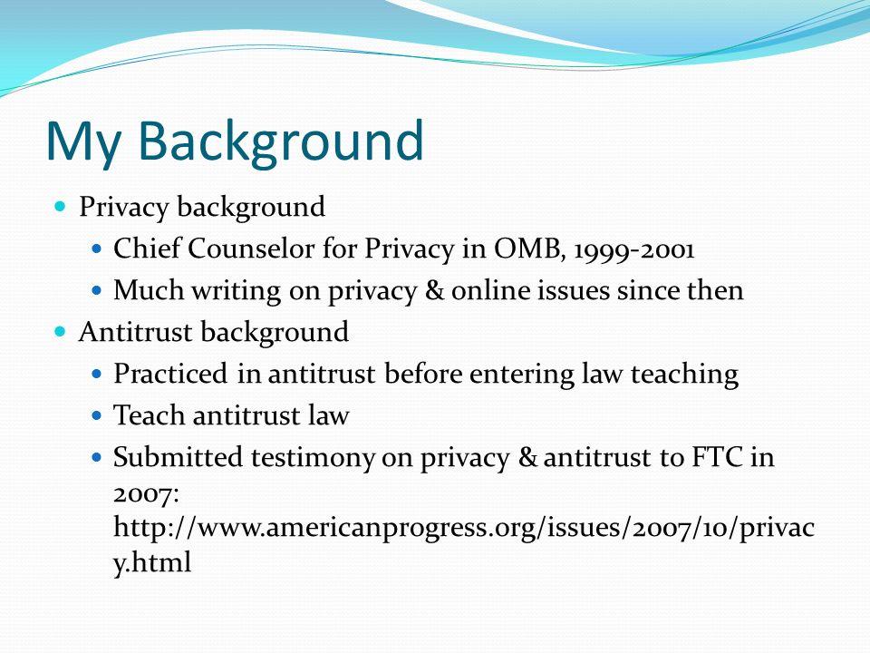 My Background Privacy background
