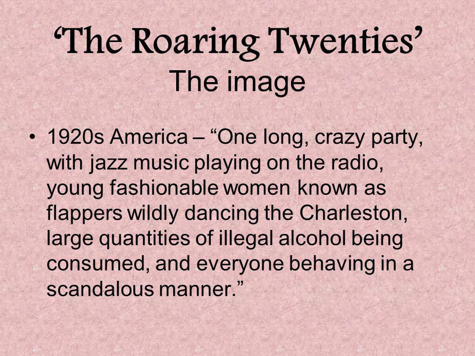 'The Roaring Twenties' The image