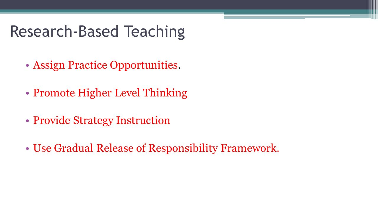 direct instruction teaching strategy
