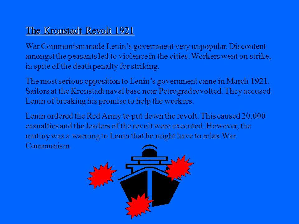 The Kronstadt Revolt 1921