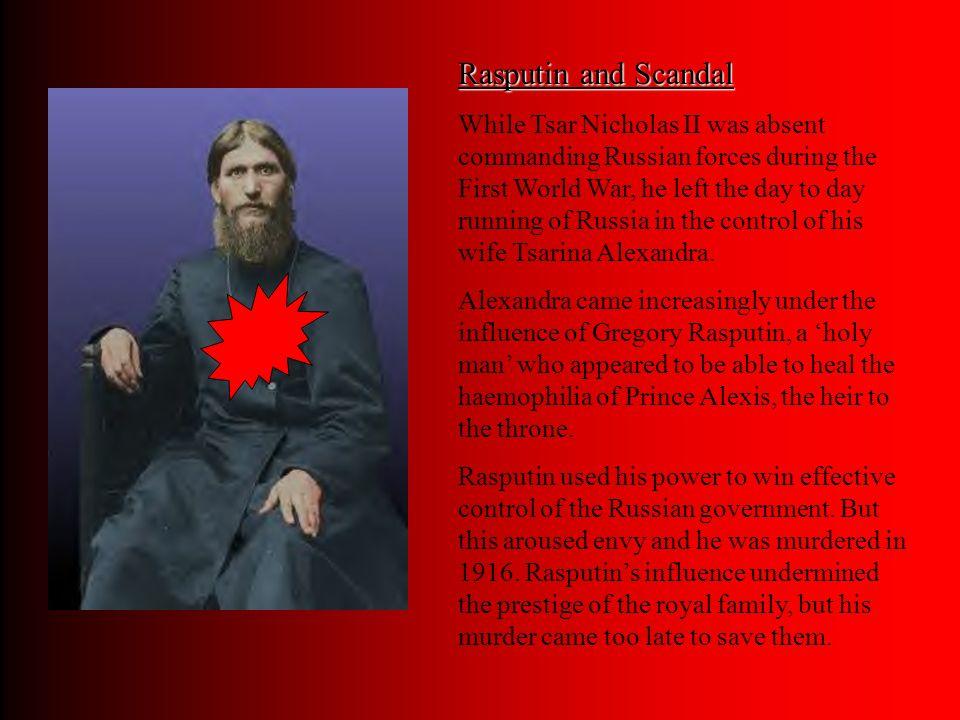 Rasputin and Scandal