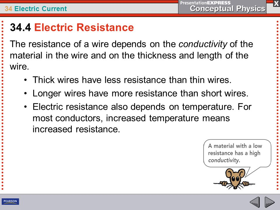 34.4 Electric Resistance