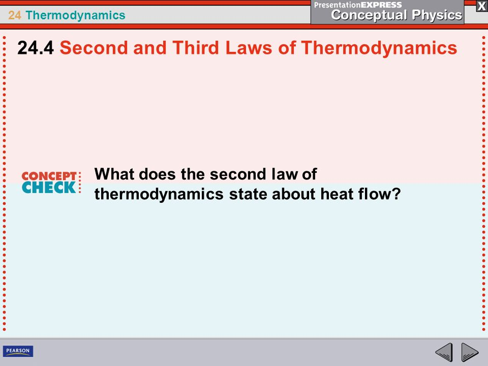 24.4 Second and Third Laws of Thermodynamics